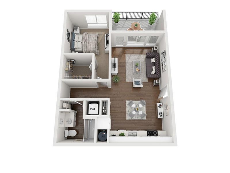 Pippen 3D Floor plan rendering