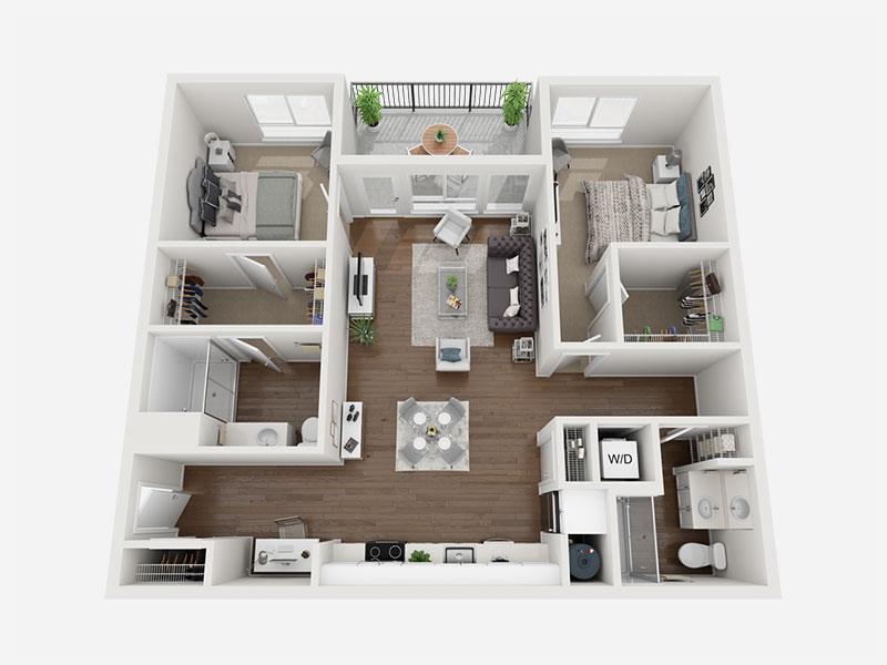 Cosmic 3D Floor plan rendering